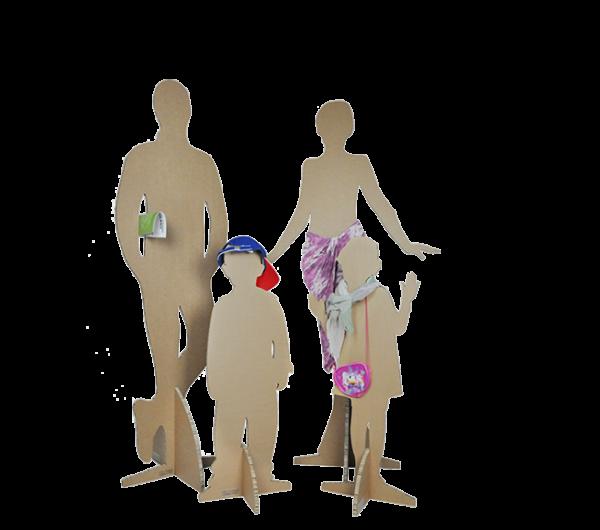 manichini famiglia